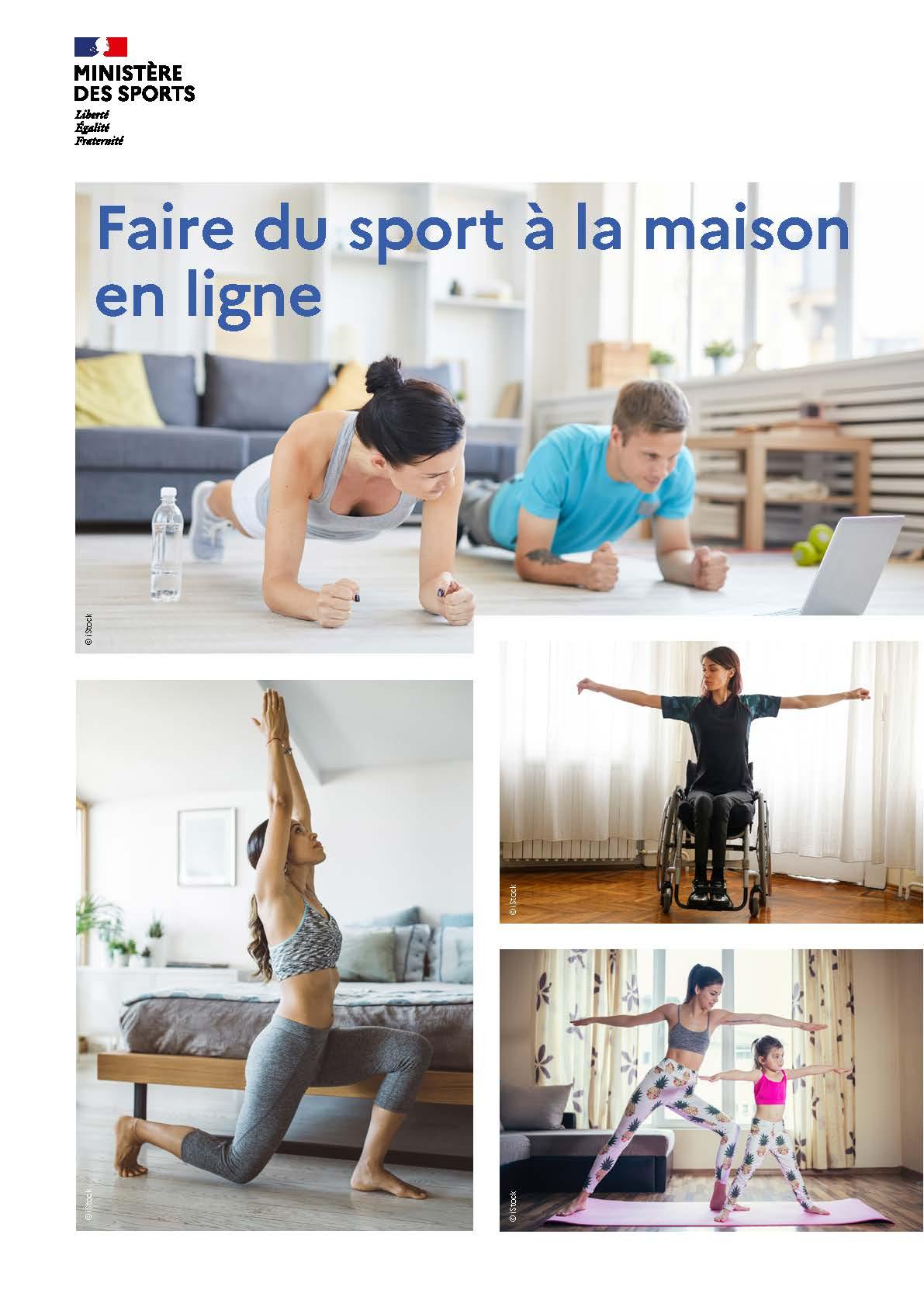Faire du sport à la maison en ligne